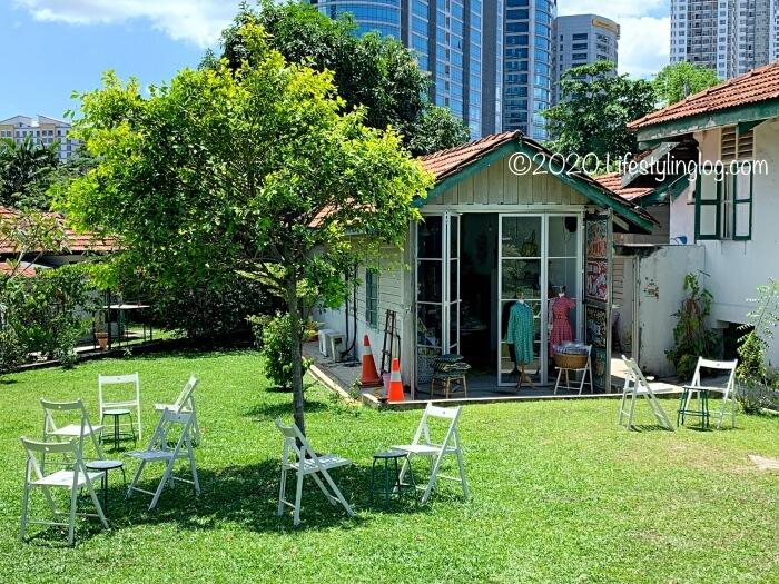 バンサーにあるNala's Kampung House