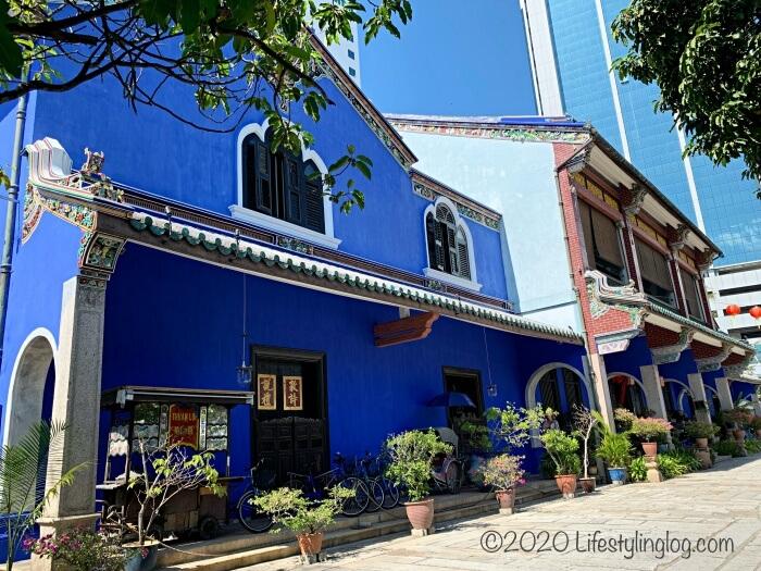 インディゴブルーのブルーマンション(Cheong Fatt Tze Mansion)