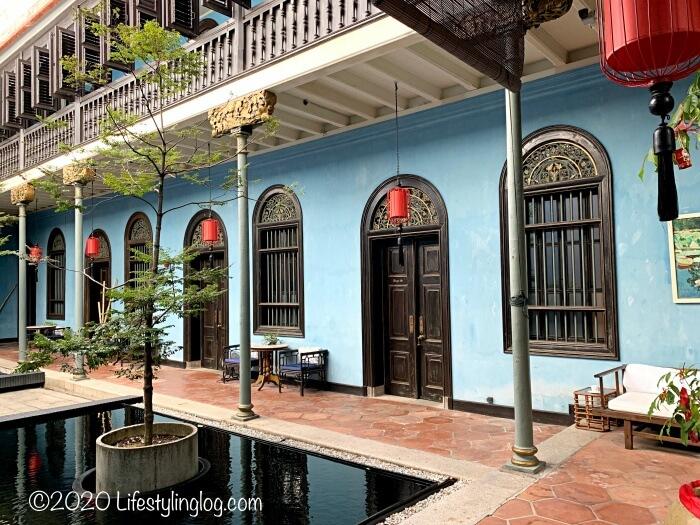 ブルーマンション(Cheong Fatt Tze Mansion)のホテル施設
