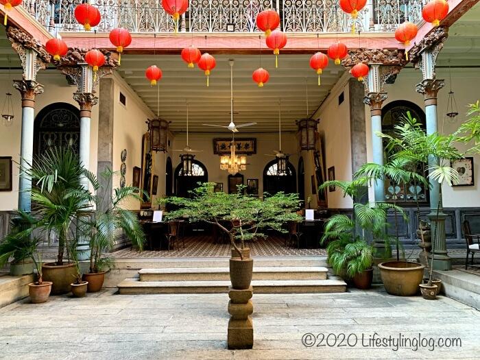 ブルーマンション(Cheong Fatt Tze Mansion)のセントラルコートヤード