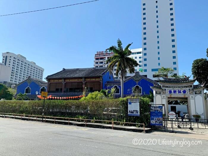 ブルーマンション(Cheong Fatt Tze Mansion)の外観全体像