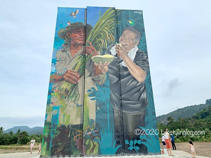 Leonard SiawさんとAries Kong(Jagung)さんによるペナンのコンテナアート