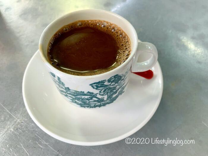Toh Soon Cafe(多春茶座)のKopi(コピ)
