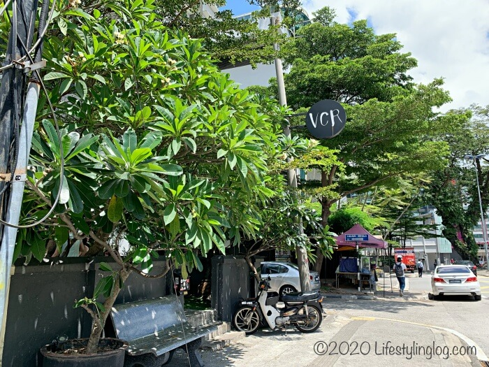 Bukit Bintang(ブキッビンタン)のJalan GallowayにあるVCR