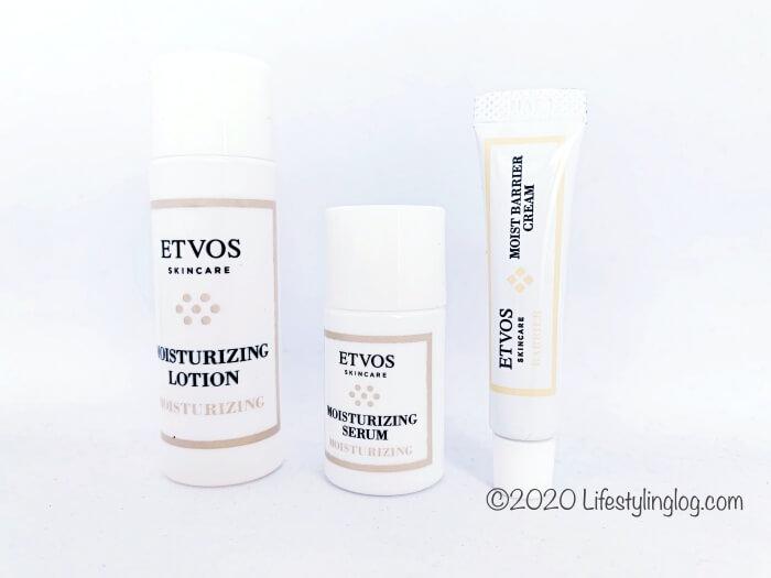 ETVOS(エトヴォス)のスキンケア商品