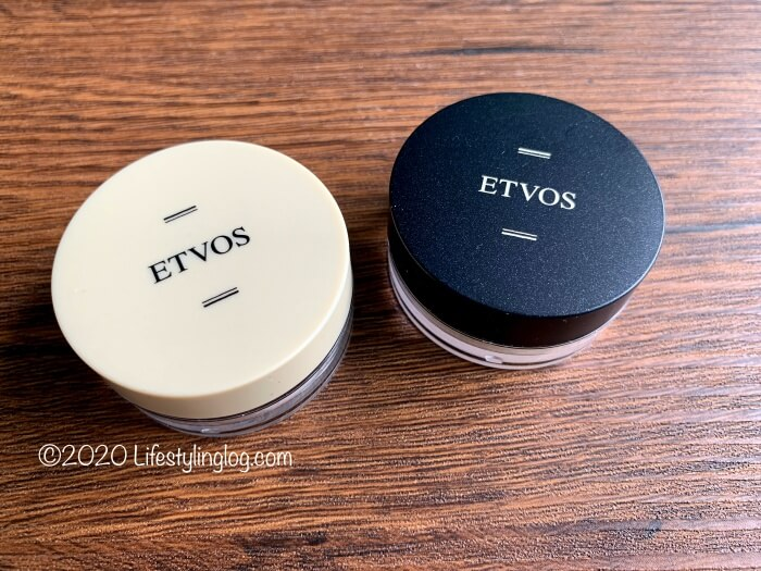 ETVOS(エトヴォス)のナイトミネラルファンデーションとマットスムースミネラルファンデーション