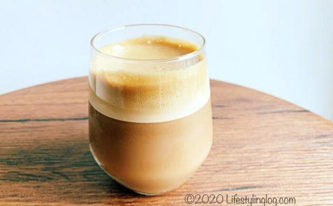 ダルゴナコーヒーをアレンジして作ったCham(チャム)