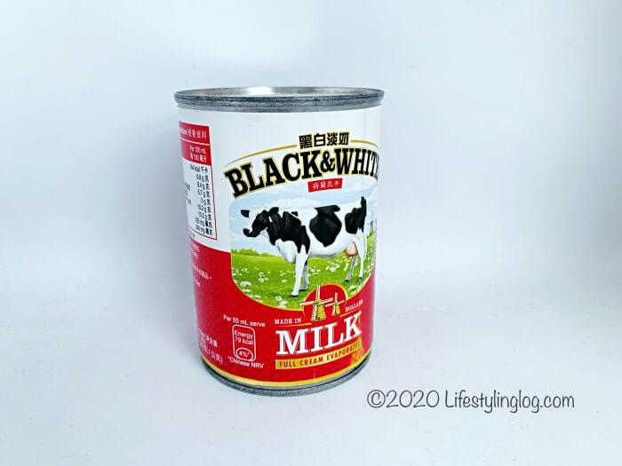 BLACK&WHITEエバミルク