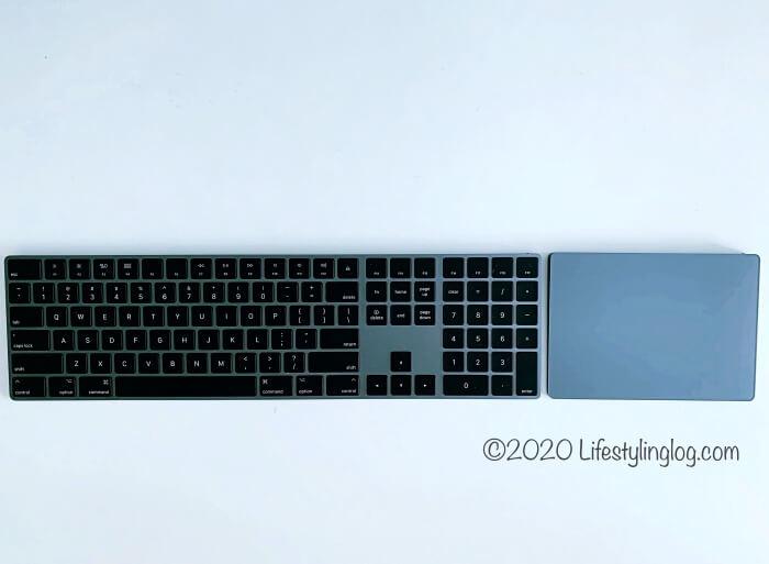 アップルのMagic KeyboardとMagic Trackpad 2