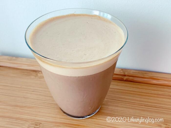 牛乳で作ったダルゴナネスロ