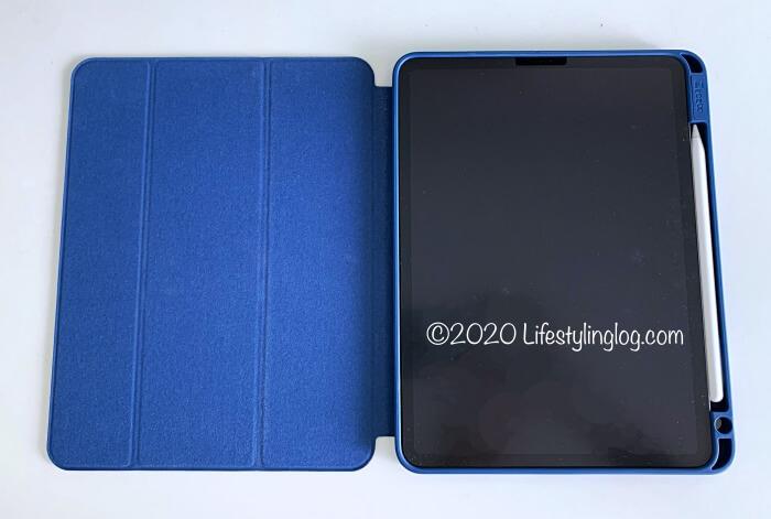 11インチiPad Pro(第1世代)とアップルペンシルを入れたZtotopのケース