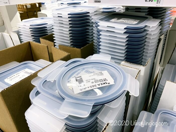IKEA 365+シリーズのプラスチック製のふた