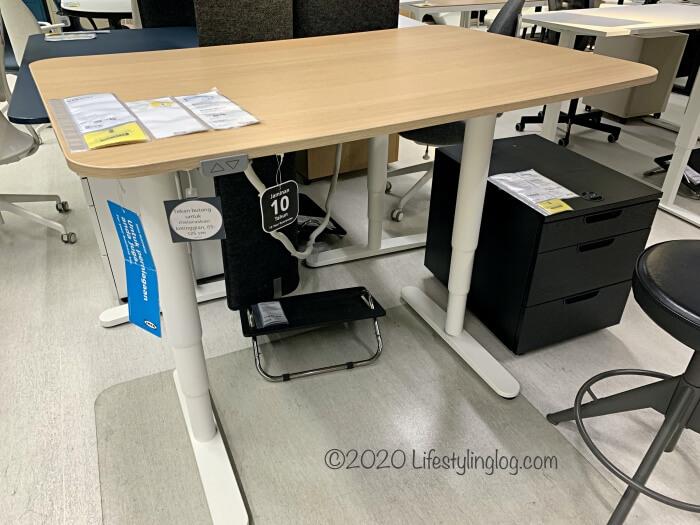 IKEAのBEKANT(べカント)