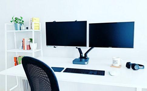 IKEA(イケア)のパソコンデスクやワークチェアで作るホームオフィス