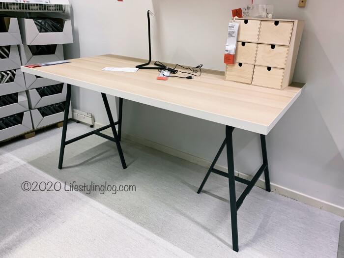 IKEAのLINNMON(リンモン)とLERBERG(レールベリ)