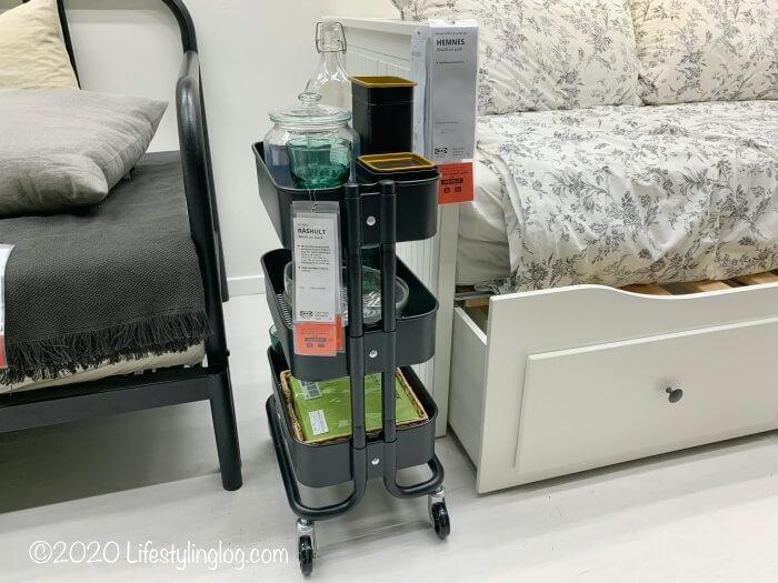 IKEAのRÅSHULT(ロースフルト)のワゴン