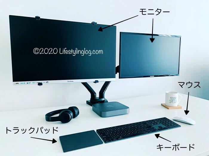 Mac miniに必要な周辺機器