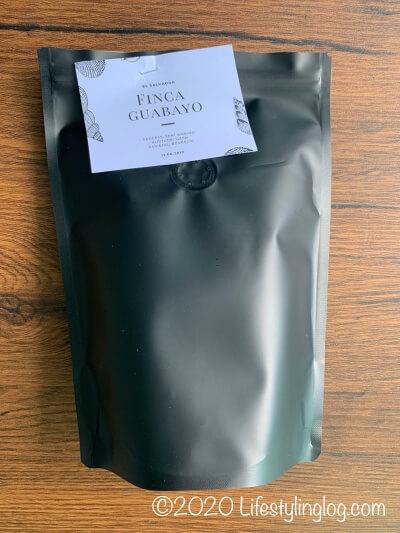 Craft Originの直焙煎したコーヒー豆