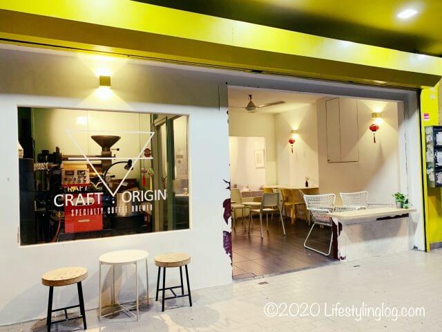 クアラルンプールのTTDIにあるCraft Originの店舗外観