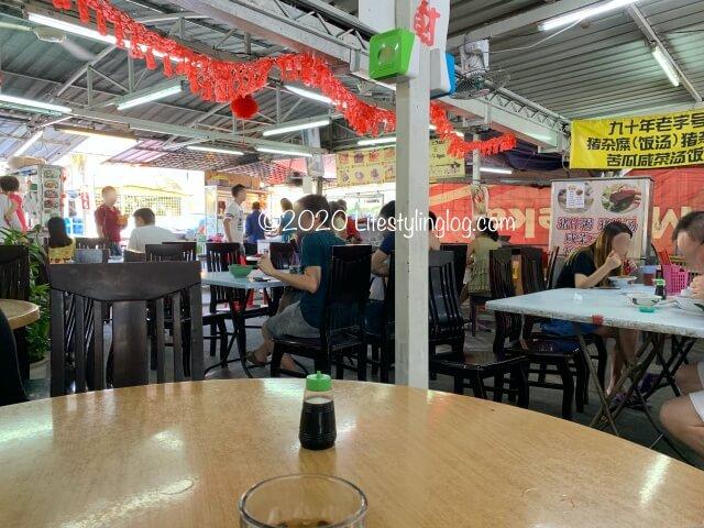 龍師傅港式竹昇麵家(Loong Sifu Bamboo Noodle House)があるコピティアムの店内