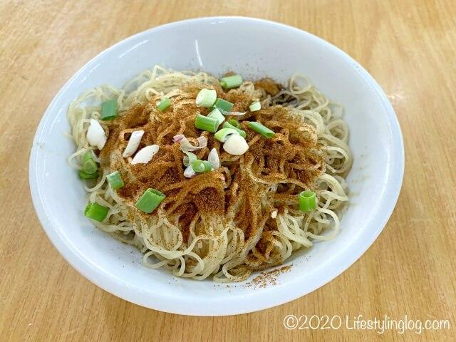龍師傅港式竹昇麵家(Loong Sifu Bamboo Noodle House)の蝦子麺