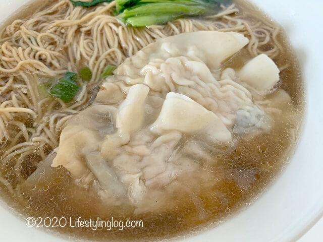龍師傅港式竹昇麵家(Loong Sifu Bamboo Noodle House)の港式水餃麵