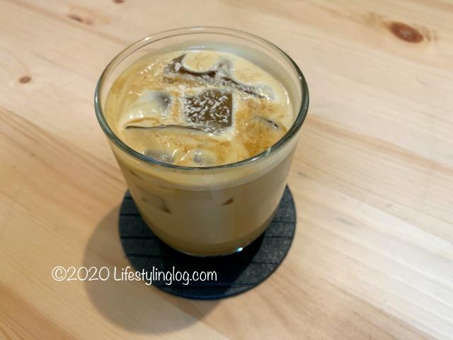 RAGEのGula Melaka Latte(グラマラッカラテ)