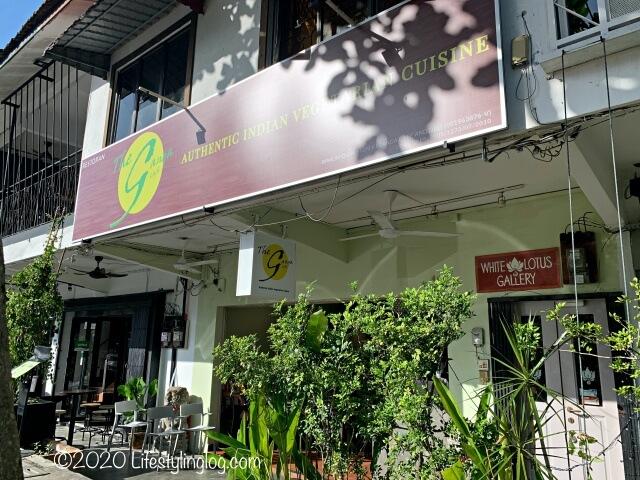 The Ganga Cafeの店舗外観