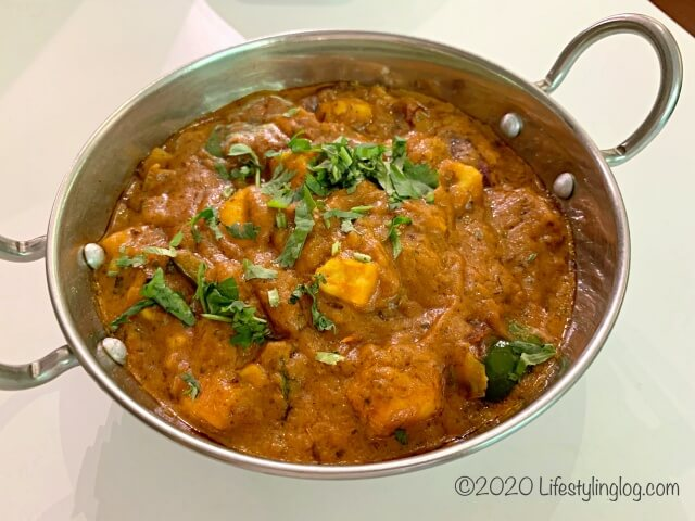 The Ganga CafeのPaneer Tikka Masala