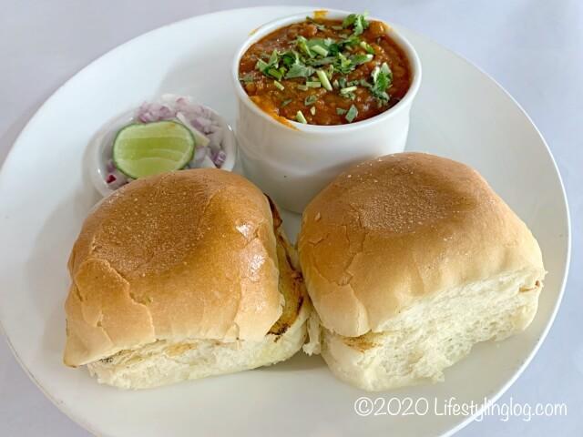 クアラルンプールにあるインド料理店WTF RestaurantのPav Bhaji