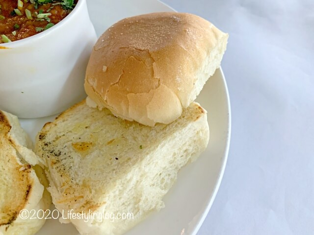 WTF Restaurantの自家製パン