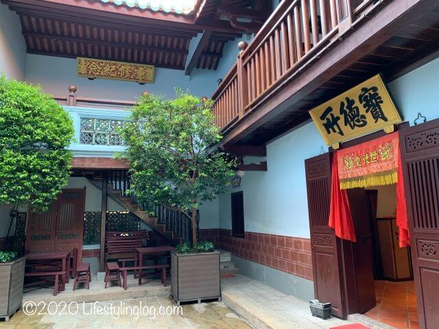 世徳堂謝公司(Seh Tek Tong Cheah Kongsi)の中庭