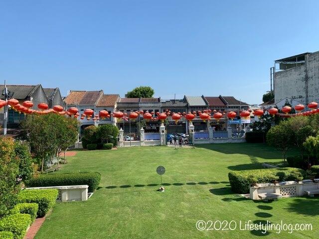 世徳堂謝公司(Seh Tek Tong Cheah Kongsi)の庭
