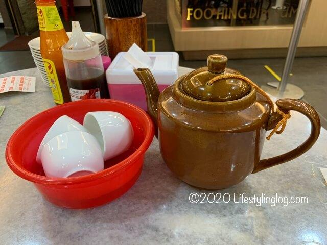富興點心(Restoran Foo Hing Dim Sum House)で注文したお茶