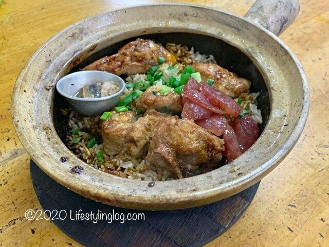 Heun Kee Claypot Chicken Riceのクレイポットチキンライス(1人前)