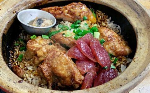 Heun Kee Claypot Chicken Riceのクレイポットチキンライス