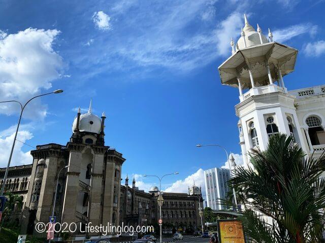 クアラルンプール駅とMalayan Railway Administration Building