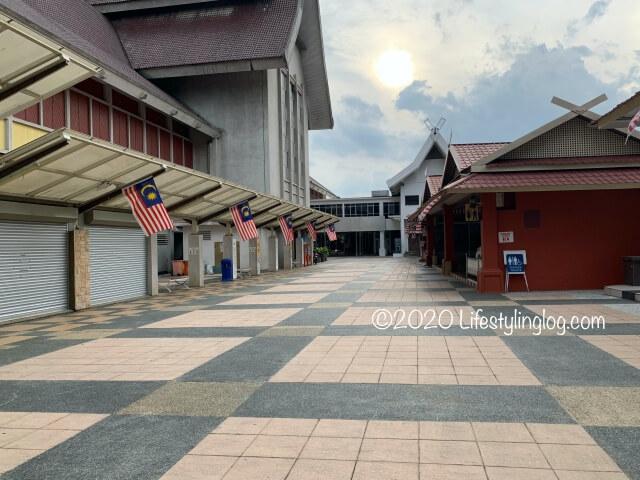 マレーシア国立博物館の裏側