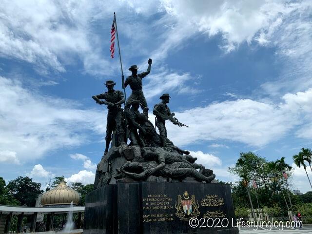 クアラルンプールにある国家記念碑(Tugu Negara)