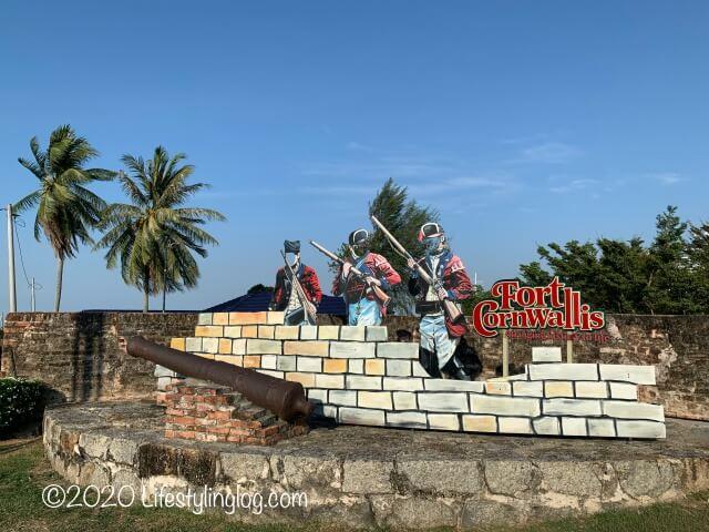 コーンウォリス要塞(Fort Cornwallis)にある撮影スポット