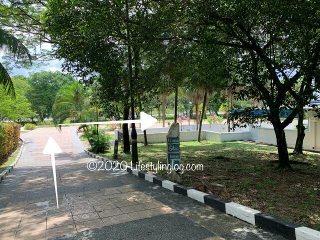 マレーシア国立博物館からPerdana Botanical Garden(ペルダナ植物園)への道のり
