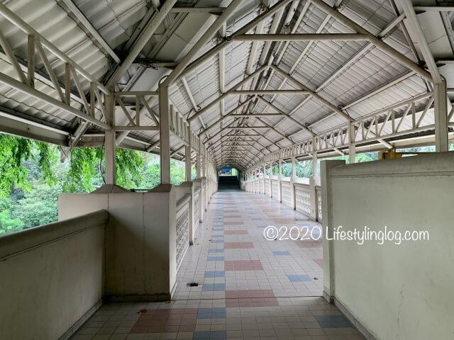 Orang Asli Crafts Museumから植物園に繋がるブリッジ