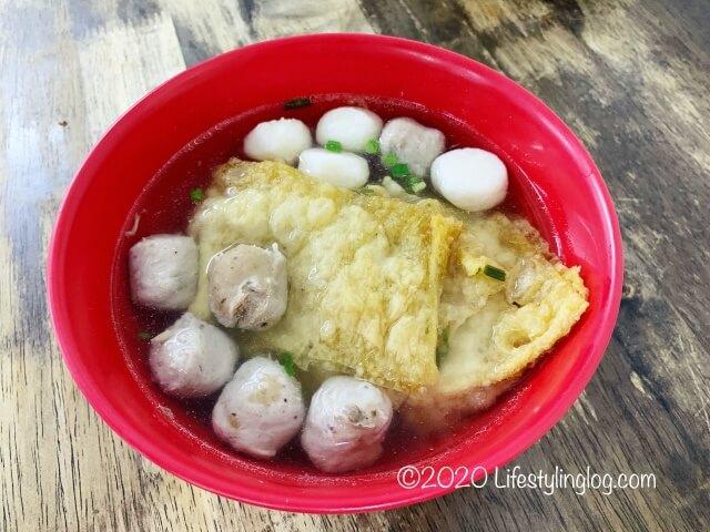 Restaurant Kin Kinのスープ