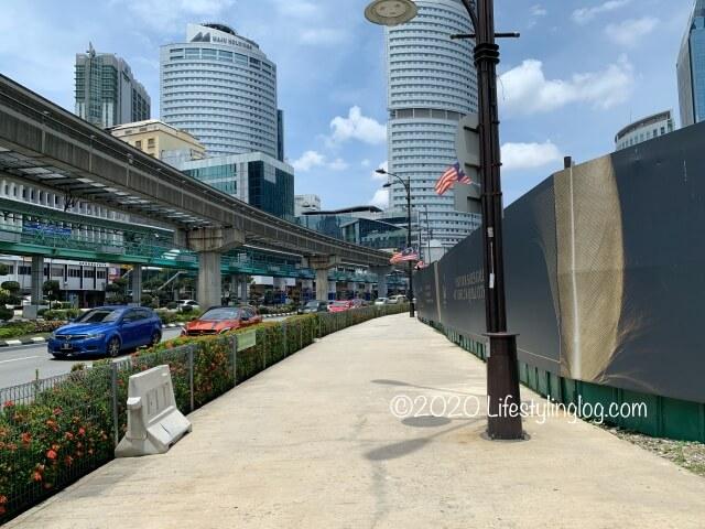 Medan Tuanku駅のC出口