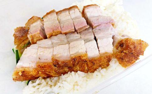 クアラルンプールのPuduにある王美記(Wong Mei Kee)の燒肉(Siew Yoke)