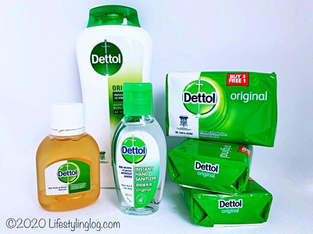 マレーシアで販売されているDettolの商品