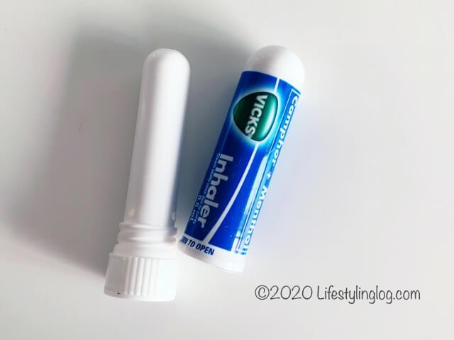 VICKSのInhaler(インヘラー・嗅ぎ薬)