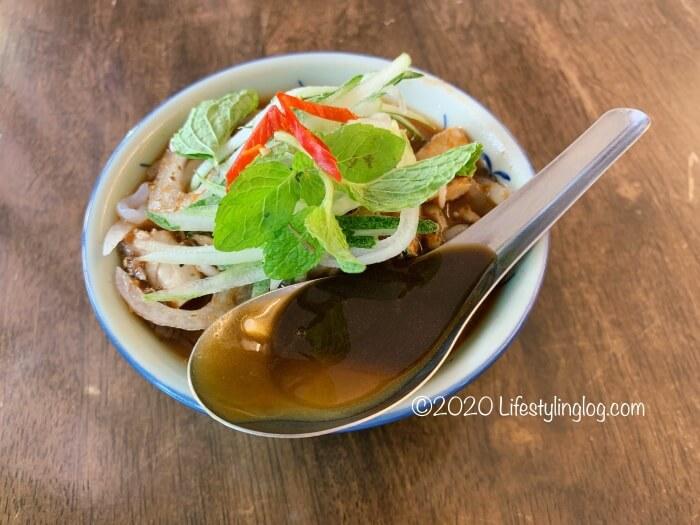 Kwong Wah Ice Kacang(光華)のAsam Laksa