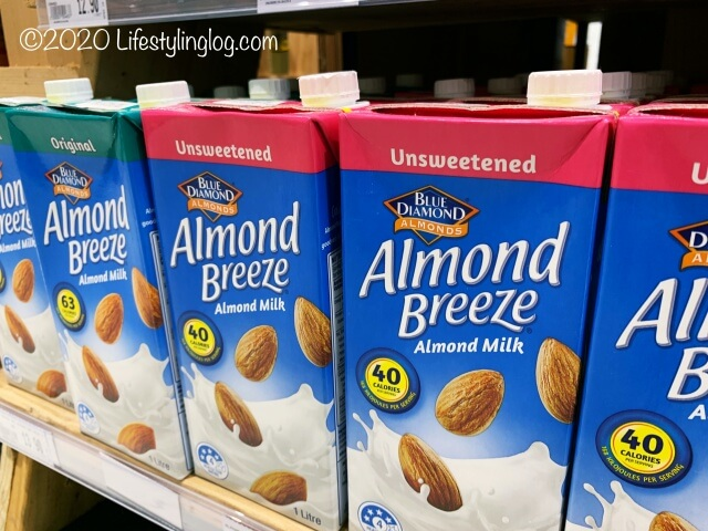 Blue Diamondのアーモンドミルク