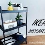 IKEAのワゴン-NISSAFORS(ニッサフォース)
